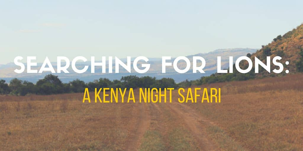 Kenya Night Safari-Title