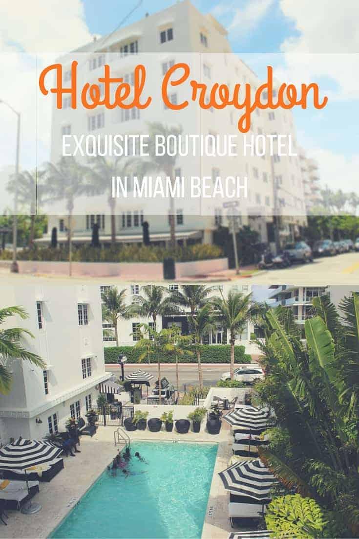 Review: Hotel Croydon - Miami Beach, FL