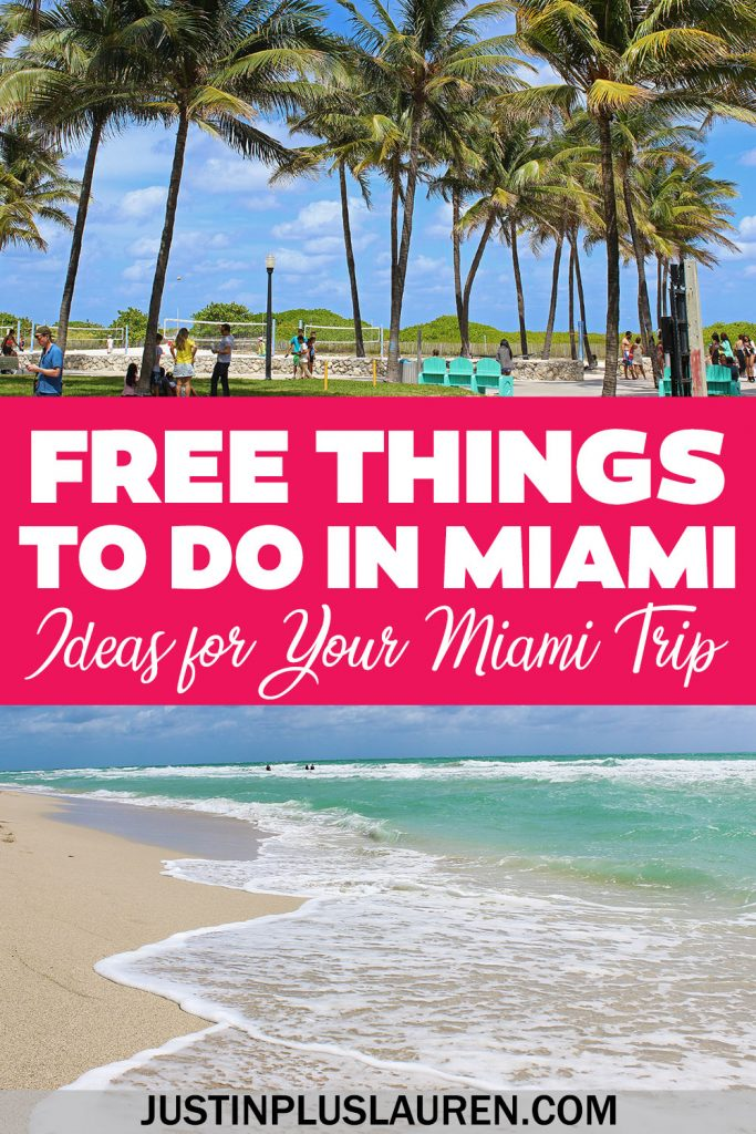 These are the best free things to do in Miami that you'll love! Cheap or free activities and attractions in Miami Beach and beyond.