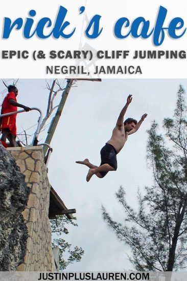 Ricks Cafe Jamaica: To Jump or Not To Jump? Not for the Faint of Heart! #Jamaica #Negril