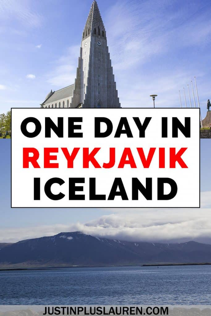 Here's how to spend one day in Reykjavik Iceland for a layover or the start of an Iceland road trip. This Reykjavik itinerary is the best way to spend your day in the city. #Reykjavik #Iceland #Travel #Itinerary #ThingsToDo #1Day