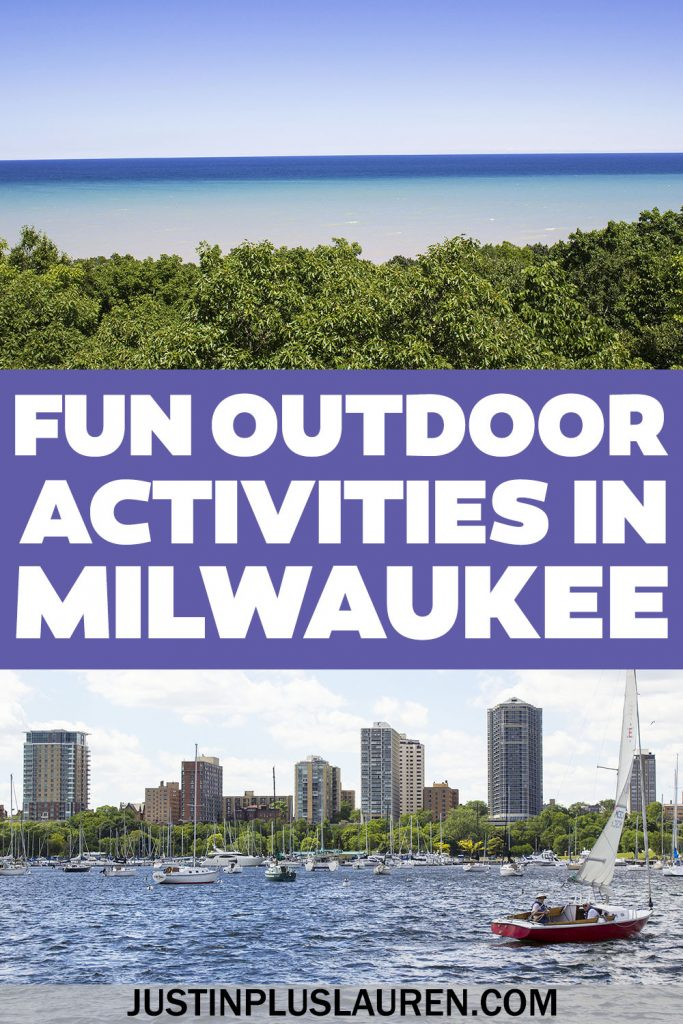 These are the 7 best outdoor activities in Milwaukee that you'll love. Explore the city, spend time in nature, and enjoy the great outdoors by land and water. These are the most fun things to do in Milwaukee, Wisconsin!