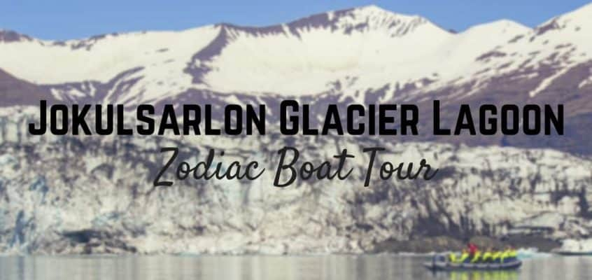 Photo Essay: Jokulsarlon Glacier Lagoon Zodiac Boat Tour