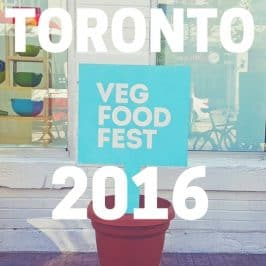 Toronto Veg Food Fest 2016