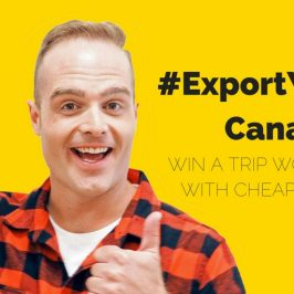 Export Yourself Canada! Win a Trip Worth $15,000 With Cheapflights.ca