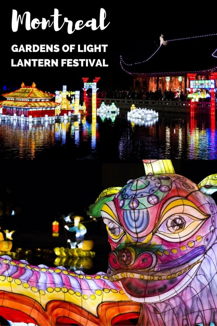 Montreal Lantern Festival - Explore the Gardens of Light
