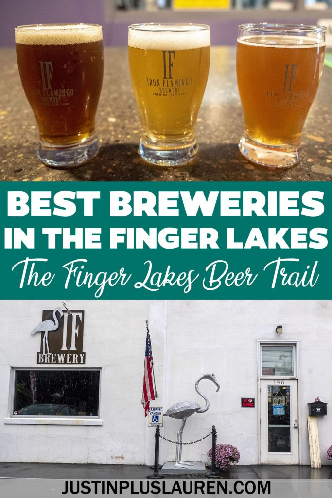 Experience the Finger Lakes Beer Trail! These are the best breweries in the Finger Lakes region, including Watkins Glen, Corning, Hammondsport and more upstate New York breweries.