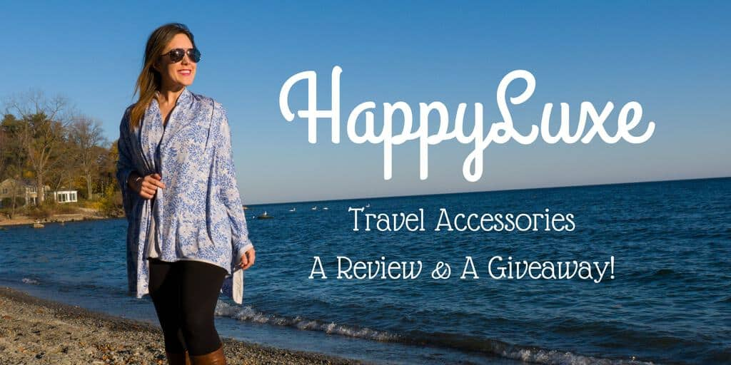 HappyLuxe Travel Accessories - Review and Giveaway