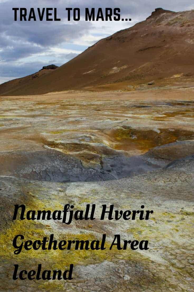 Namafjall Hverir Geothermal Area Iceland - Travel to Mars