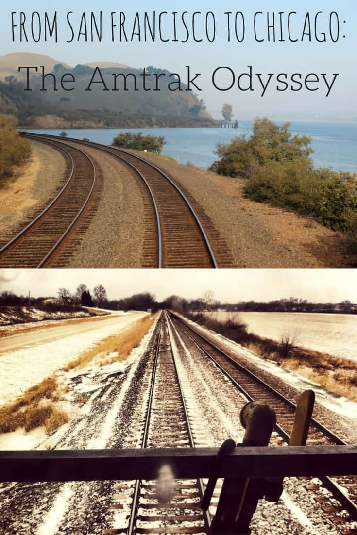 From San Francisco to Chicago - The Amtrak Odyssey