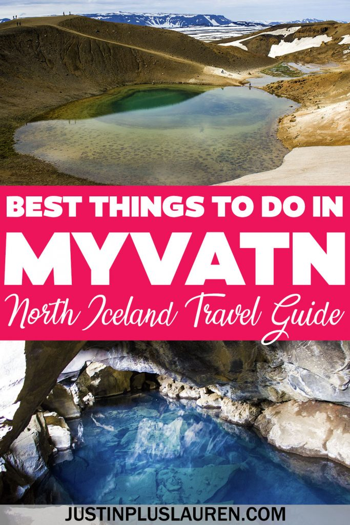 Here are the best things to do in Myvatn Iceland for an amazing trip to north Iceland and a portion of Iceland's Diamond Circle.