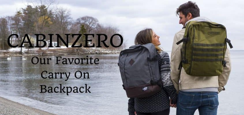 CabinZero Backpack – Our Favorite Carry On Luggage