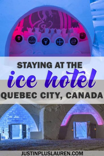 Ice Hotel Quebec: An Insider's Guide to Surviving the Night #QuebecCity #IceHotel #Quebec #Canada #Winter