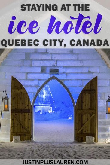 Ice Hotel Quebec: An Insider's Guide to Surviving the Night #Winter #Canada #QuebecCity #Quebec #IceHotel