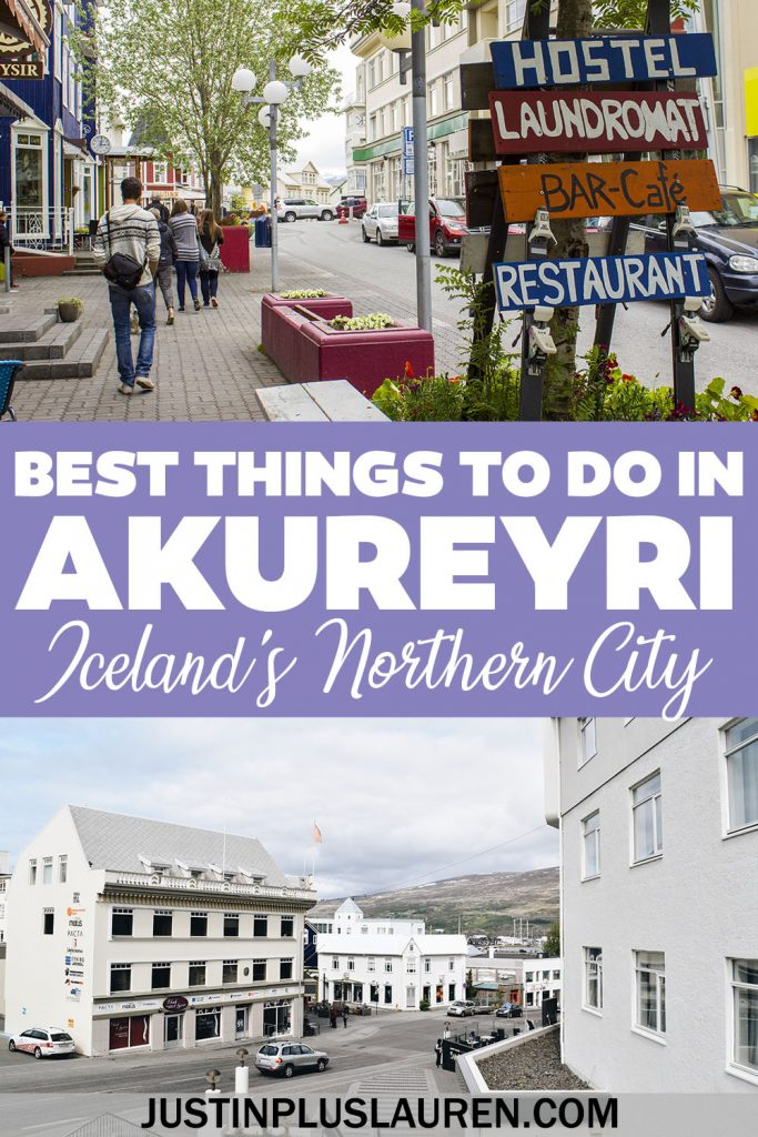 If you're planning a trip to Iceland, you'll definitely want to visit Akureyri, Iceland's northern capital city. These are the best things to do in Akureyri Iceland for an amazing day.