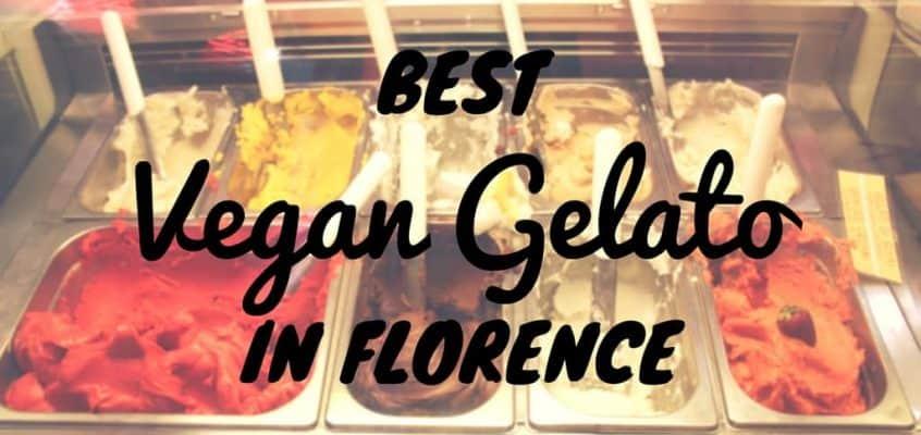 Best Vegan Gelato in Florence, Italy