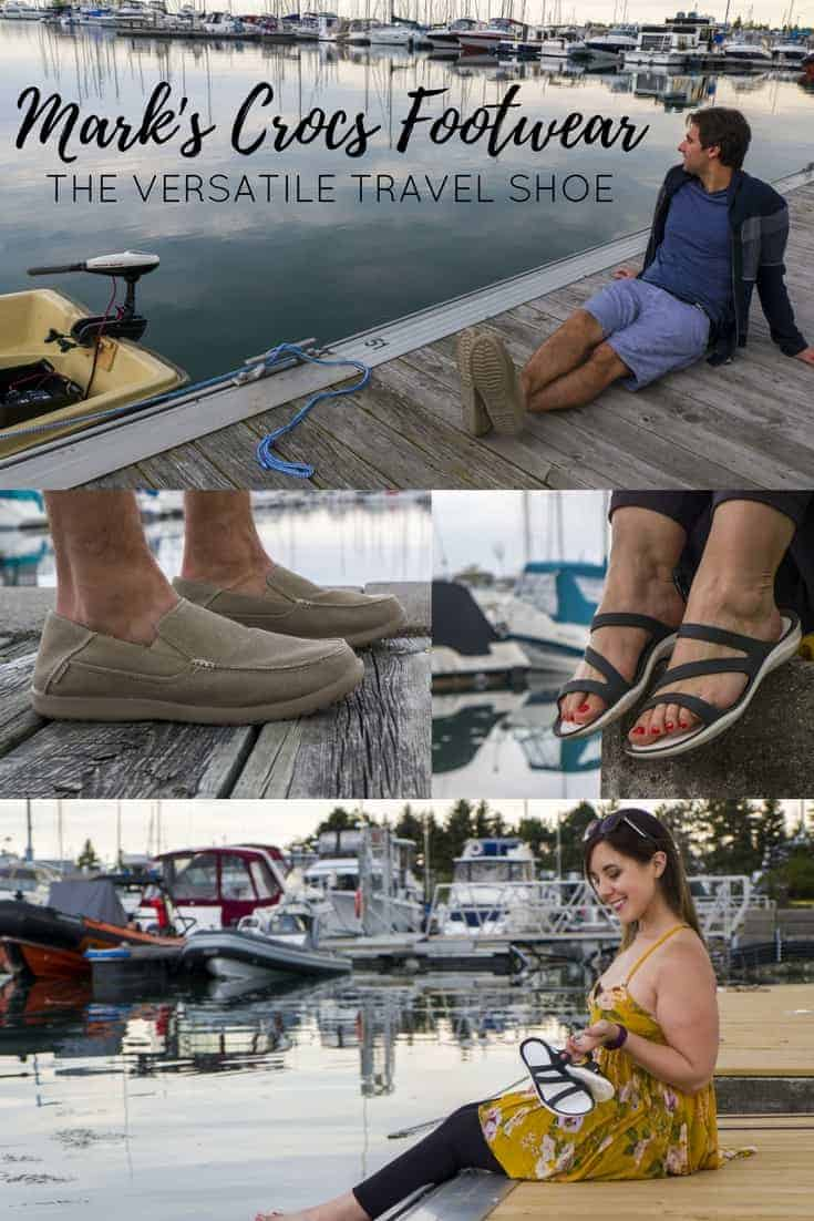Mark's Crocs Footwear: The Versatile Travel Shoe