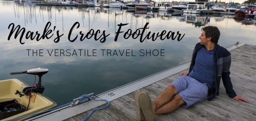 Mark's Crocs Footwear: The Versatile Travel Shoe