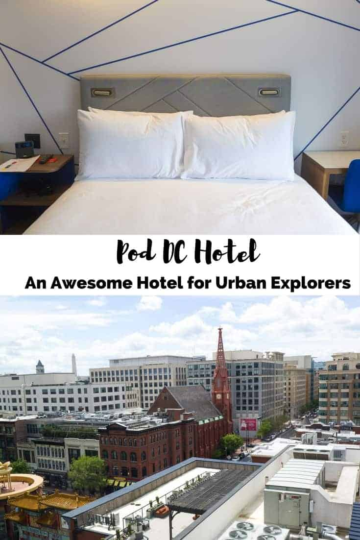 Pod DC Hotel: An Awesome Hotel for Urban Explorers in Washington, DC, USA