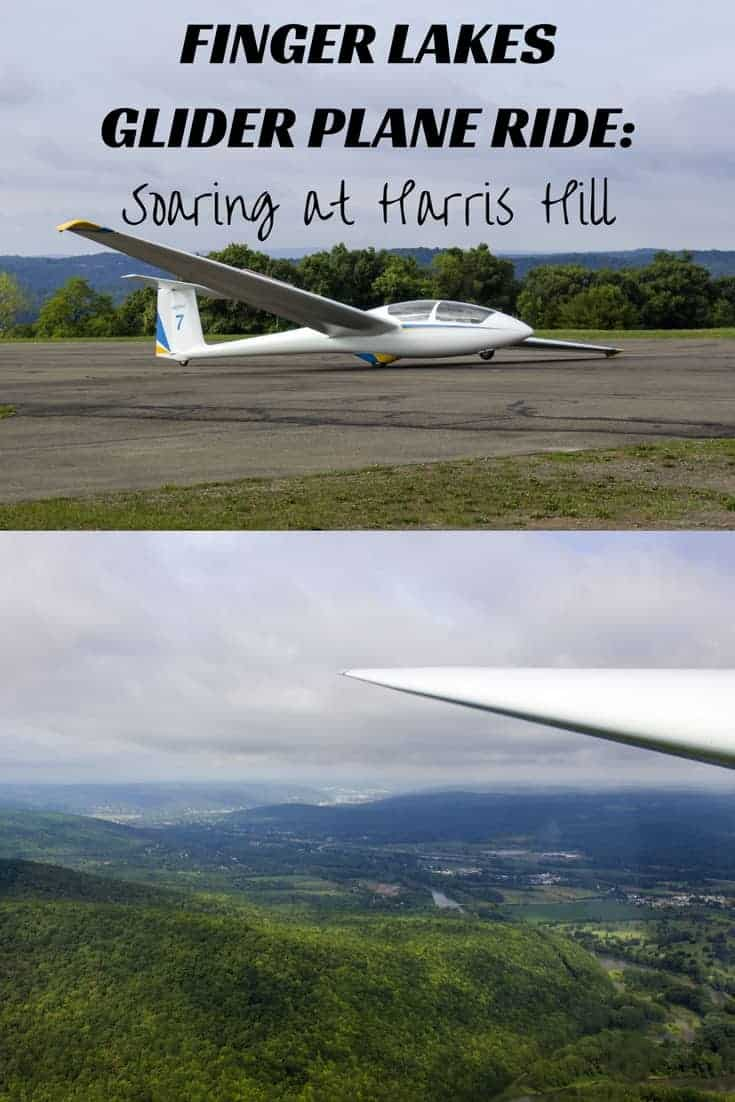 Finger Lakes Glider Plane Ride: Soaring at Harris Hill in Elmira, New York, USA