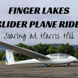 Finger Lakes Glider Plane Ride: Soaring at Harris Hill