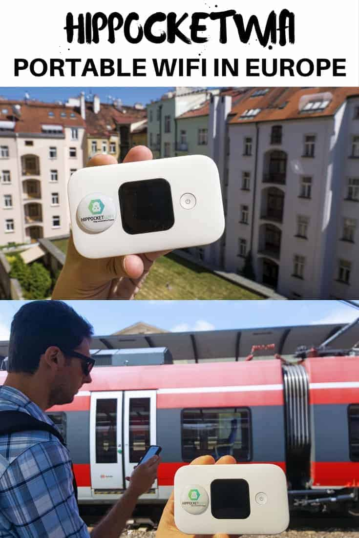 Portable WiFi in Europe with Hippocketwifi - Justin Plus Lauren
