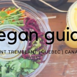 Mont Tremblant Vegan Dining in the Pedestrian Village