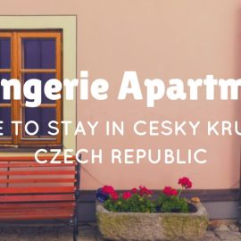 Where to Stay in Cesky Krumlov – Orangerie Apartment