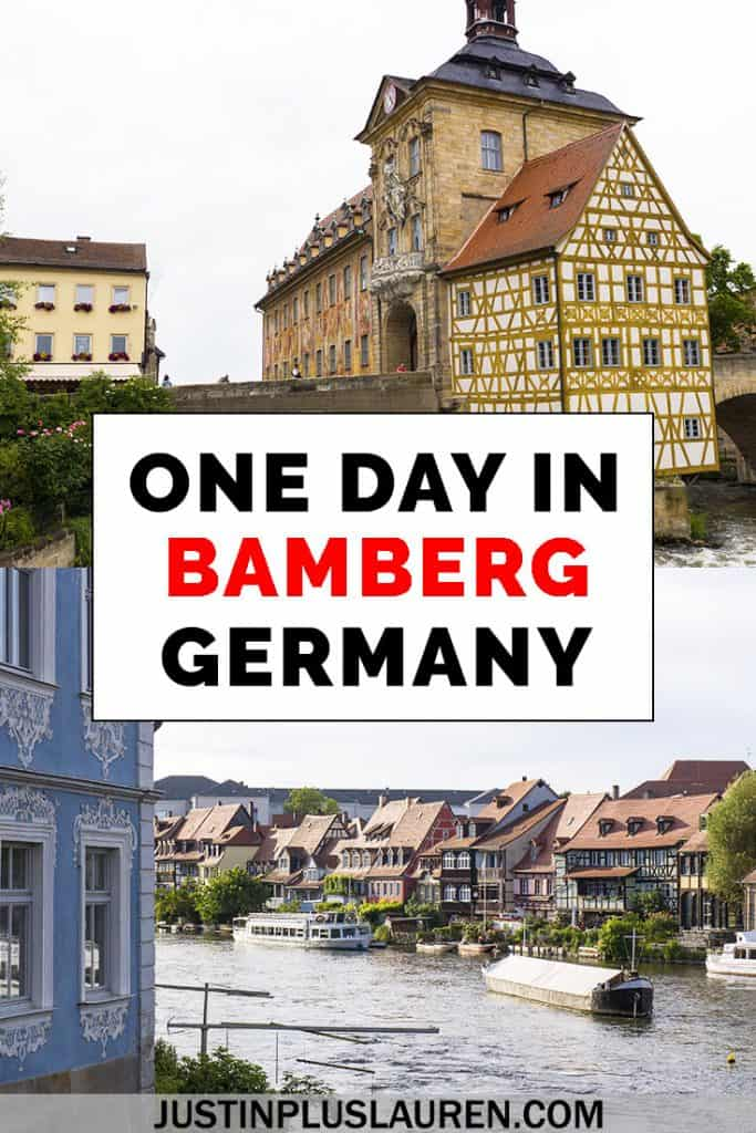 Here are all the best things to do in Bamberg Germany, and you can easily visit Bamberg in a day. Here's how to spend an epic one day in Bamberg Germany. #Bamberg #Germany #Travel #Itinerary #TravelGuide