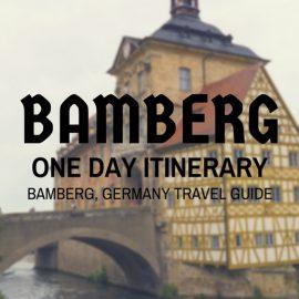 Bamberg One Day Itinerary – Bamberg Travel Guide