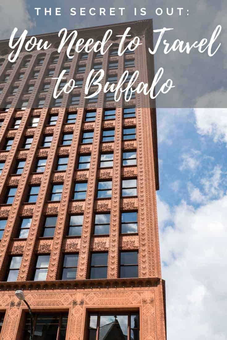 The Secret is Out: You Need to Travel to Buffalo, New York, USA