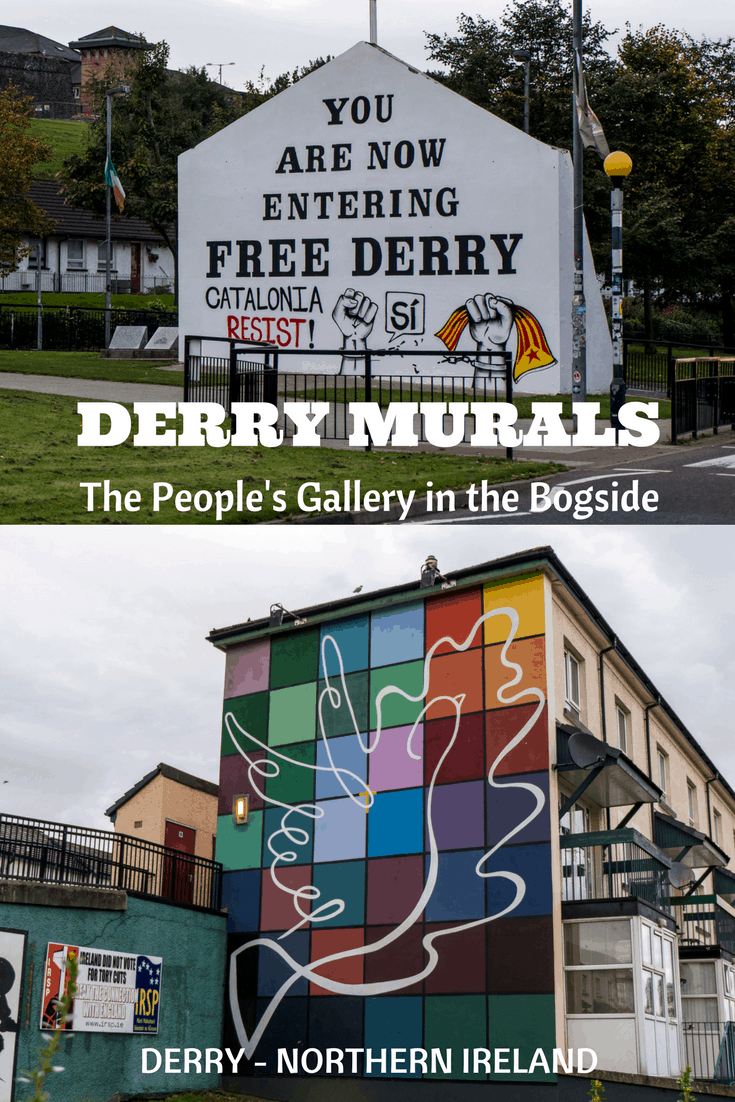 Derry Murals: The People's Gallery in the Bogside - Derry, Northern Ireland