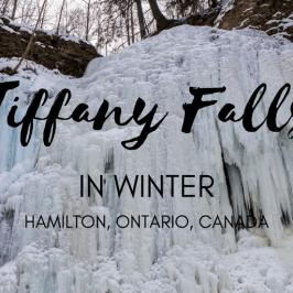 Tiffany Falls in Winter is a Magical Frozen Wonderland
