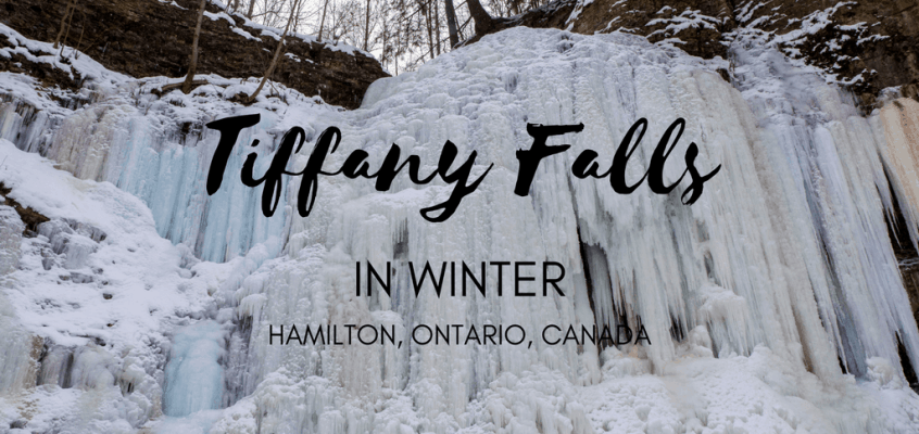 Tiffany Falls in Winter is a Magical Frozen Wonderland