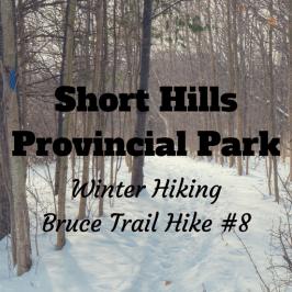 Short Hills Provincial Park Winter Hiking – Bruce Trail Hike #8
