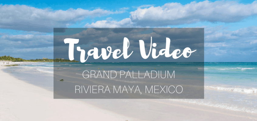 Grand Palladium Riviera Maya Mexico Resort Video