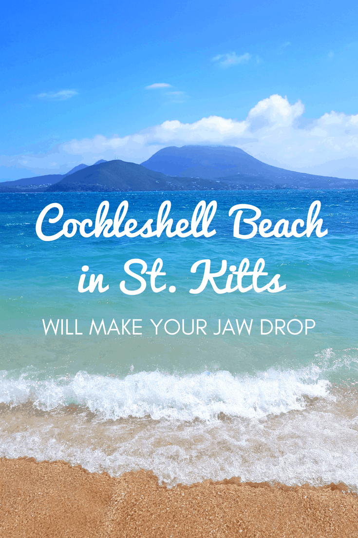 Cockleshell Beach in St Kitts Will Make Your Jaw Drop | St. Kitts and Nevis | Caribbean Beaches | Beautiful Beaches of the World | Cruise Excursions