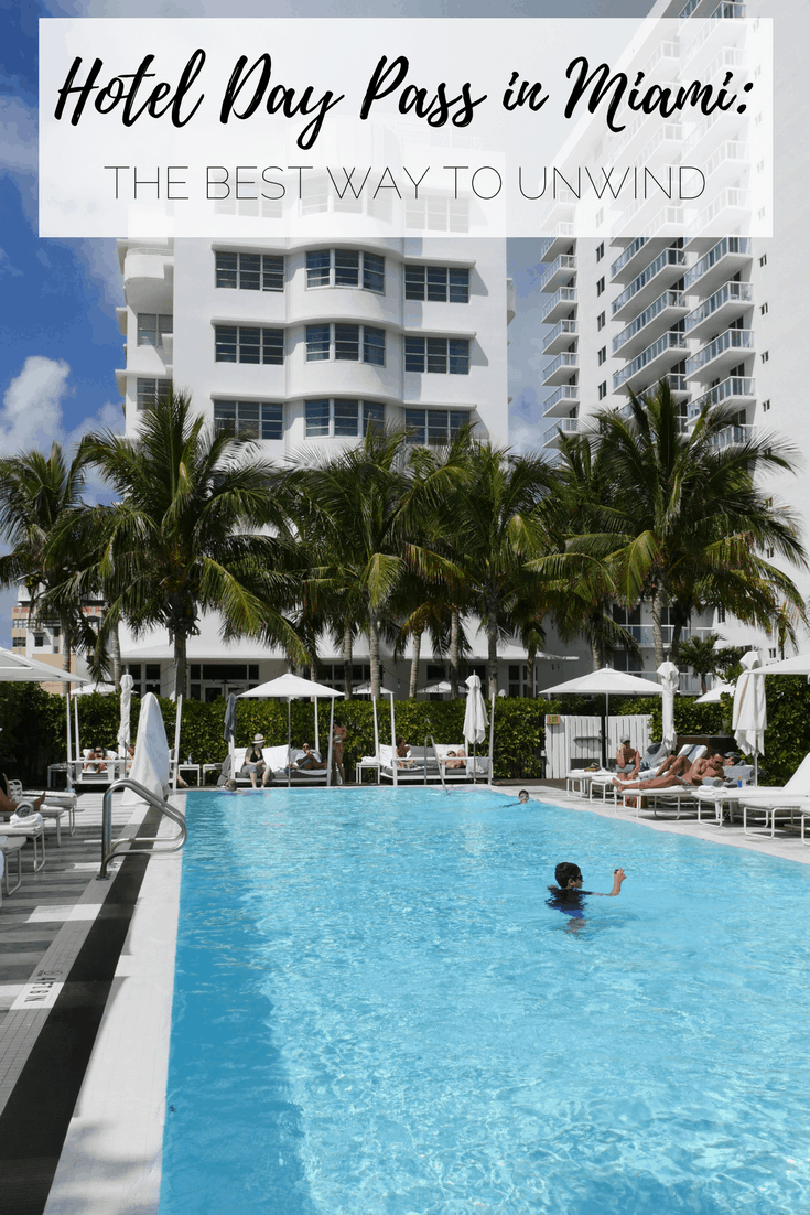 Miami Hotel Day Pass: Relax Before an Evening Flight | Miami Beach, Florida, USA | #Miami #MiamiBeach #Florida #Hotel #DayPass #ResortPass #SouthBeach #COMO #COMOMetropolitan #BeachHotel #USA