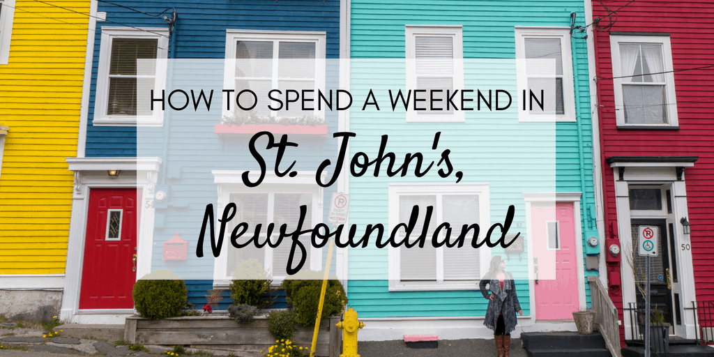 Weekend in St. John's Newfoundland with #FordEcoSport