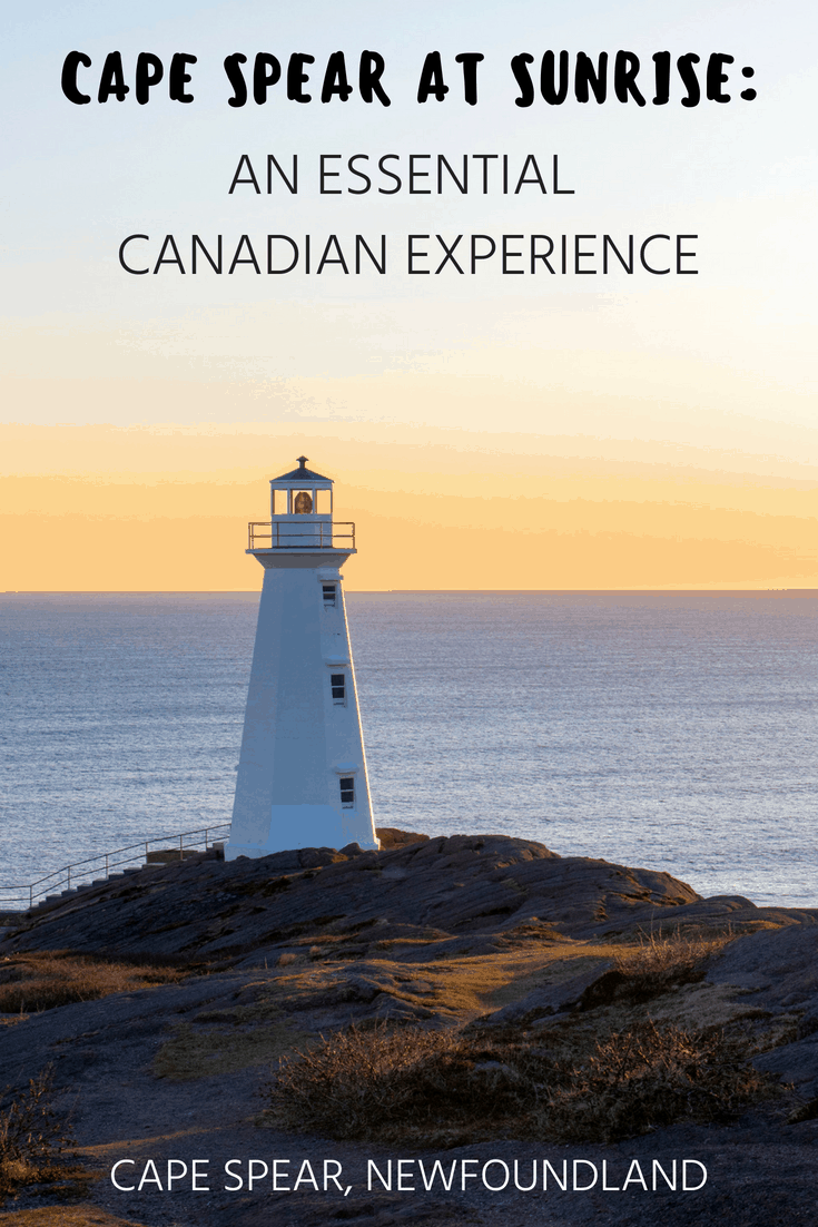Cape Spear at Sunrise: An Essential Canadian Experience | Newfoundland and Labrador } Canada Bucket List | Travel to Canada | Canada Travel Destinations | St. John's, NL