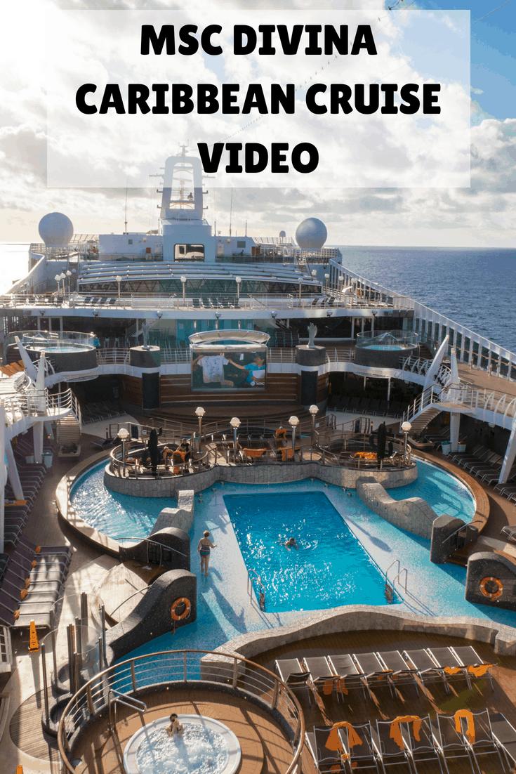 MSC Divina Caribbean Cruise Video - #Cruise #MSCDivina #Caribbean #Video #CaribbeanCruise #MSCCruises #VeganCruise