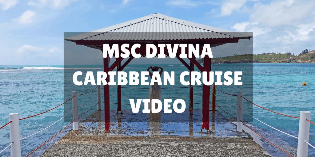 MSC Divina Caribbean Cruise Video