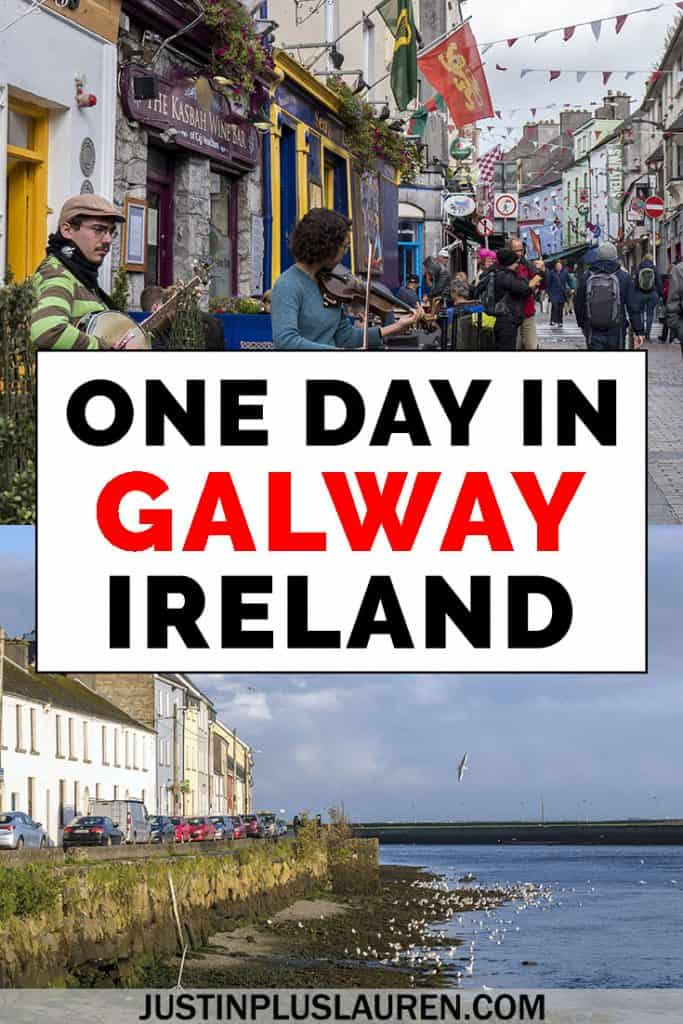 There are so many things to do in Galway City, Ireland. Here's how I spent an amazing one day in Galway with so many free and fun attractions to see and do. #Galway #Ireland #Travel #Europe #OneDay #Itinerary #ThingsToDo