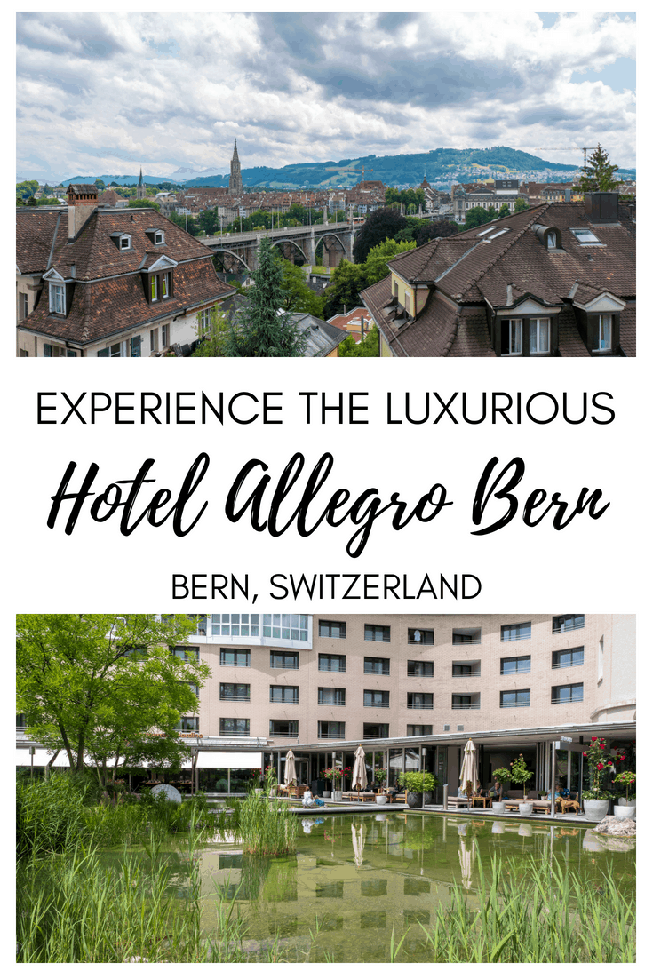 Experience the Luxurious Hotel Allegro Bern, Switzerland #Bern #Switzerland #Hotel #Review #Luxury #Berne