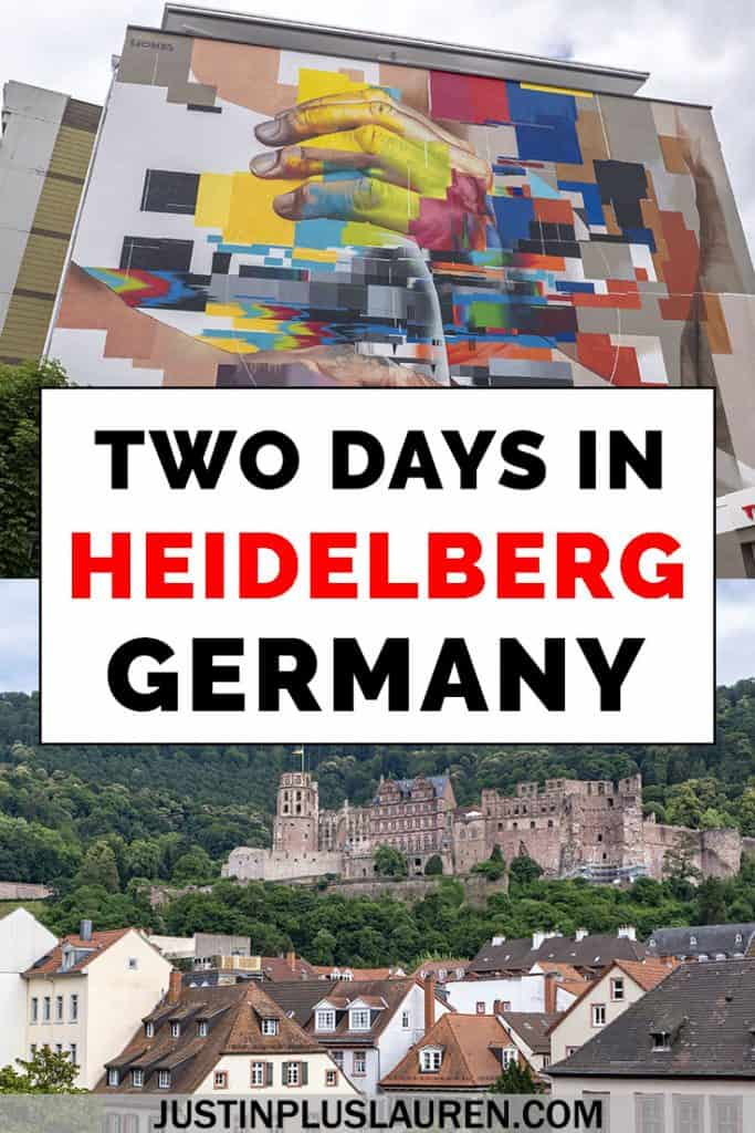 The best things to do in Heidelberg Germany! How to spend an amazing weekend in Heidelberg or 1 - 2 days in Heidelberg. The top attractions, activities, places to eat, stay, and more! #Heidelberg #Germany #Itinerary #Travel #ThingsToDo