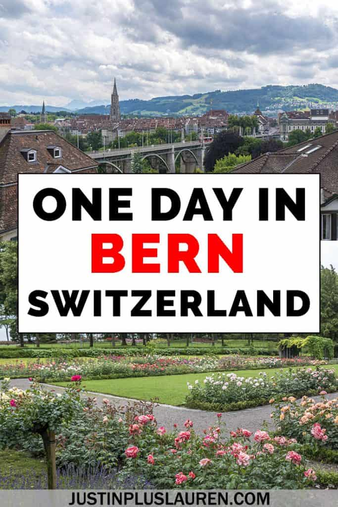 Bern is a beautiful city in Switzerland with a charming old town, a gorgeous river and mountains. Here are all the best things to do in Bern, Switzerland so you can spend an amazing day in Bern. #Bern #Switzerland #Itinerary #TravelGuide #Travel #CityBreak #CityGuide