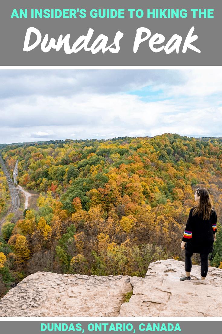 An Insider's Guide to Hiking the Dundas Peak & Tews Falls - Dundas, Ontario, Canada #Dundas #Ontario #Canada #Hamilton #HamOnt #Waterfall #TewsFalls #DundasPeak #WebstersFalls #Fall #Autumn #FallHiking #OntarioHiking