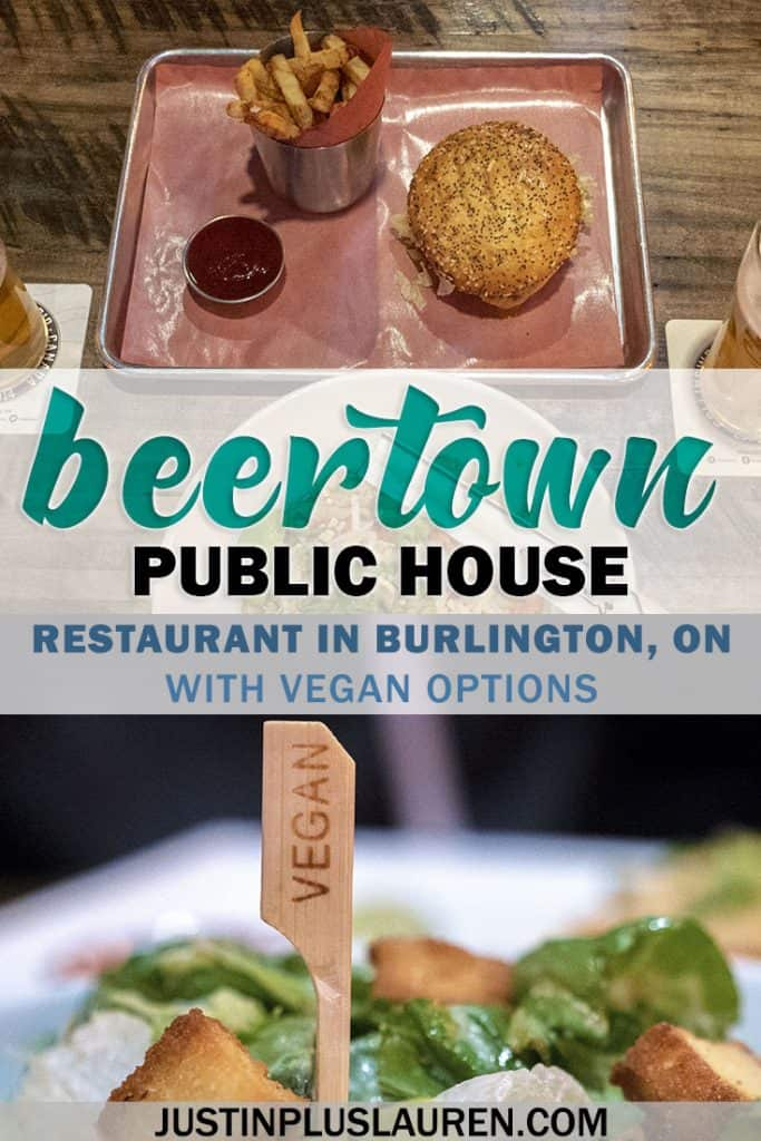 Beertown Public House in Burlington, Ontario - Restaurants in Burlington, Ontario - Restaurants with Vegan Options #Beertown #Vegan #Restaurants #Burlington #Ontario #Canada