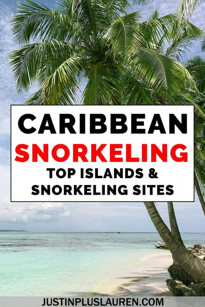 There's so much amazing snorkeling in the Caribbean that it might be hard to choose! Here's the best places to go snorkeling in the Caribbean, including marine reserves, national marine parks, and world famous sites. #Caribbean #Snorkel #Snorkeling #Travel #Island