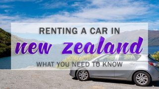 Renting a Car in New Zealand